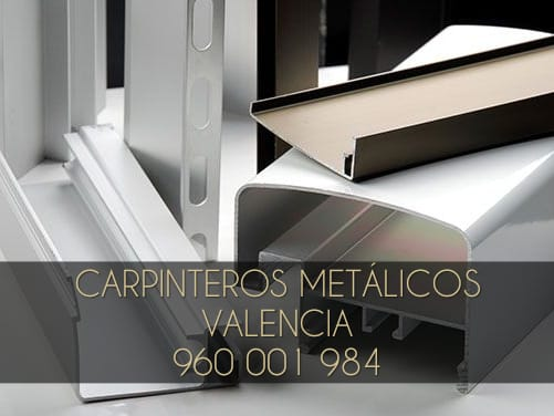 Carpinteros de aluminio baratos en Valencia y alrededores