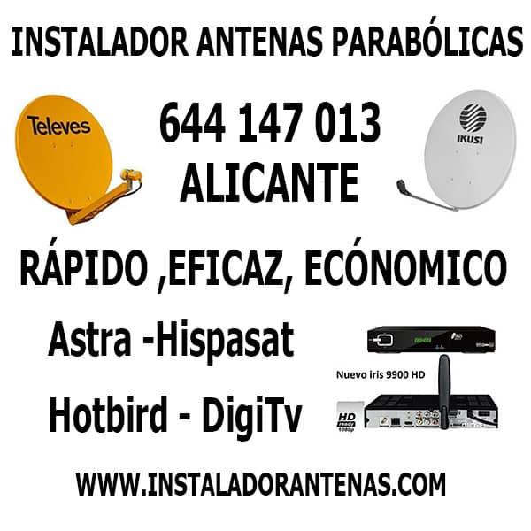 Antenistas en Alicante