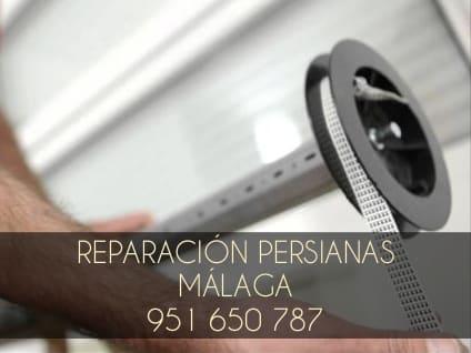 Reparación de persianas al momento en Málaga.