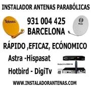 Antenista en Barcelona